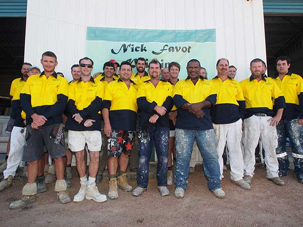 Our team at Nick Favot Painting Townsville